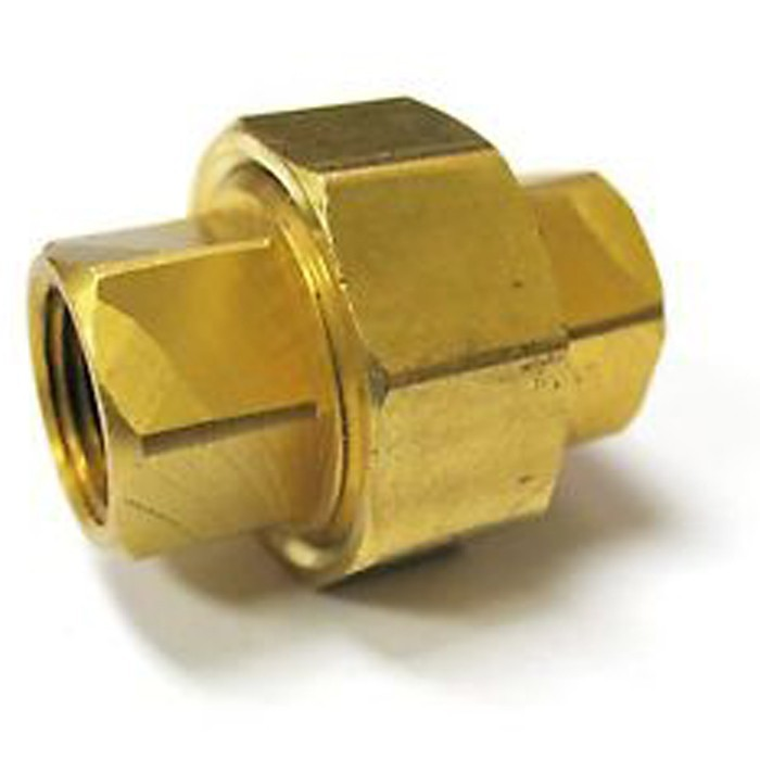 "Factory Direct 200Pcs/Case Brass Union 1/2"" NPT Female Pipe Fitting Casting Tube Fitting"