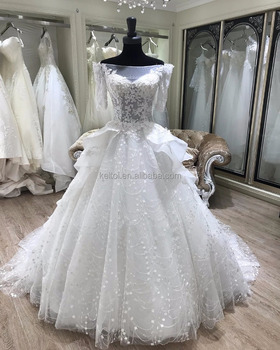 2018 Price Turkish Ball Gown Wedding Dresses