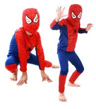 Halloweenský kostým Spiderman, Superman a Batman