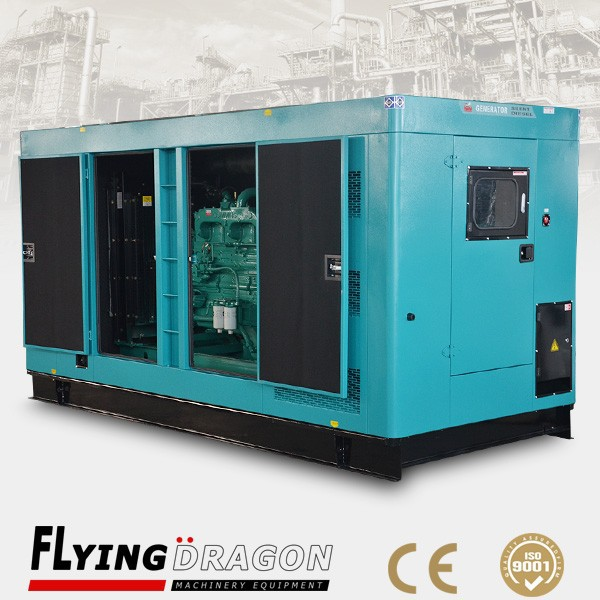 Small high duty diesel generator 250kva super silent water cooled Ricardo generator 200kw