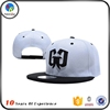 Wholesale New Design Customized Snapback with Sticker
