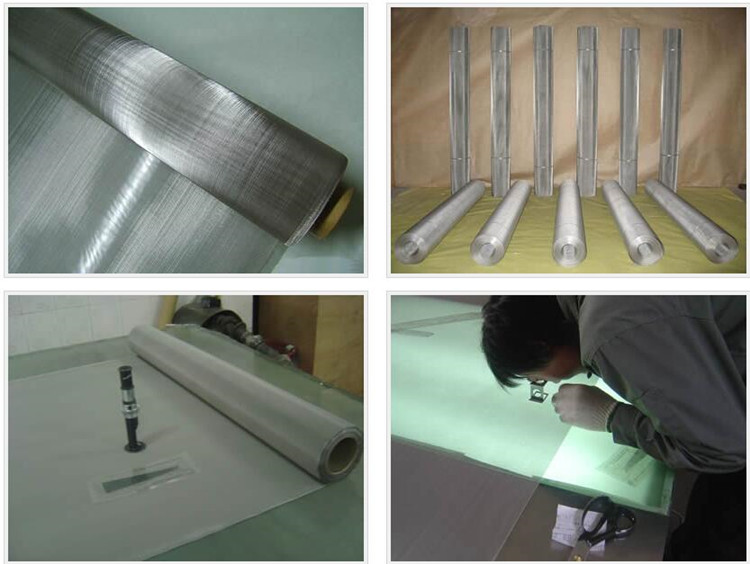 500 Micron Stainless Steel Wire Mesh Cloth Stainless Steel 304 woven wire mesh