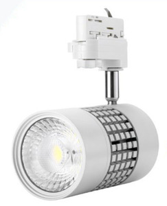 LED 240V Track Single Warm White Lighting Rotate Angle Circuit GU10 Spot Light