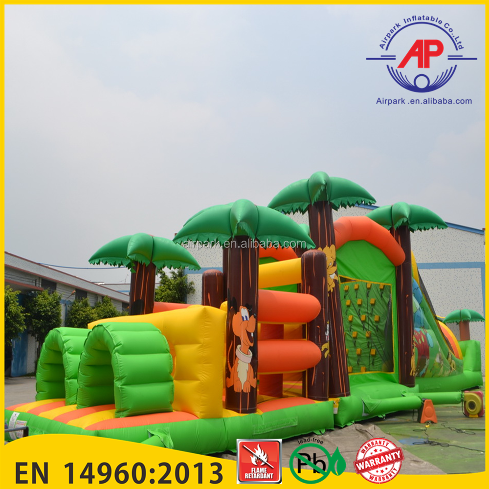 inflatable obstacle course for kids and adults inflatable