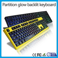 Hot selling laptop backlight wired keyboard for PC