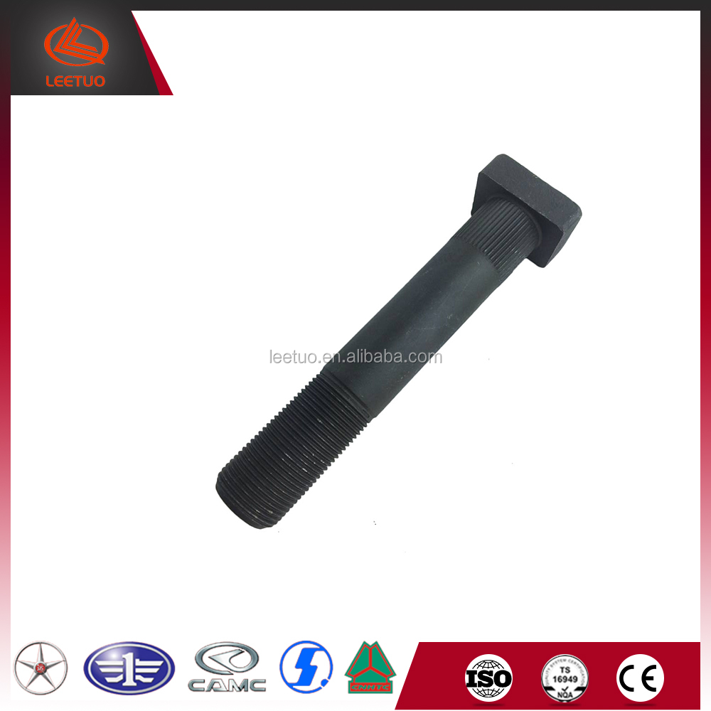 Hot Sale Truck Parts Forging Fasteners Vehicles Tyre Bolts