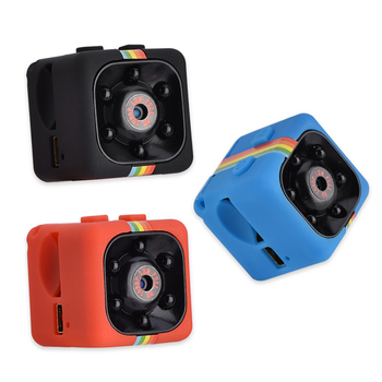 SQ11 Mini DV HD 1080P 2MP Sport Recorder Camera with Holder, Support Monitor Detection & IR Night Vision & TF Card