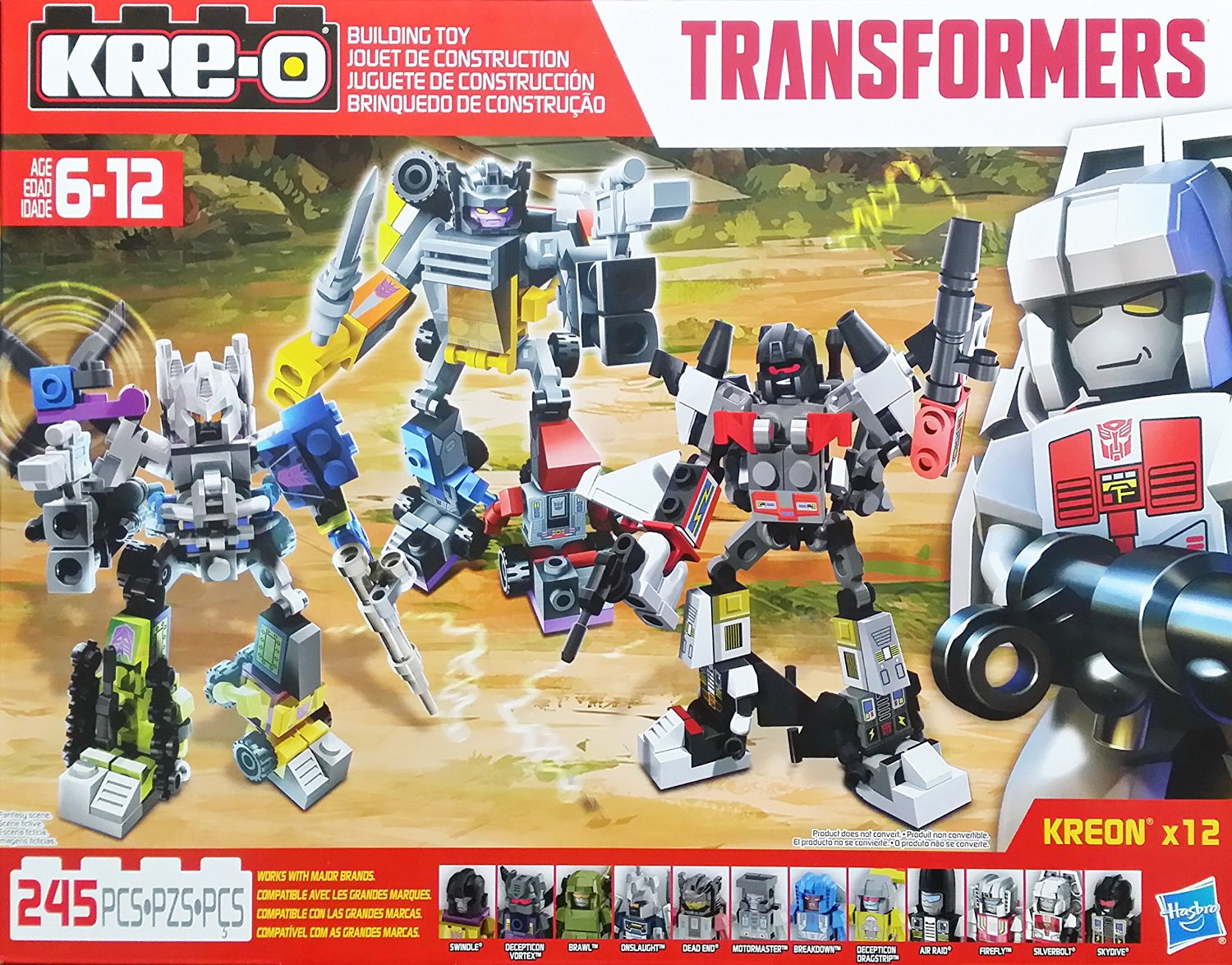 Kre-O Transformers Micro Changers Combiners Robot Mega Pack Includes: Superion, Bruticus & Menasor