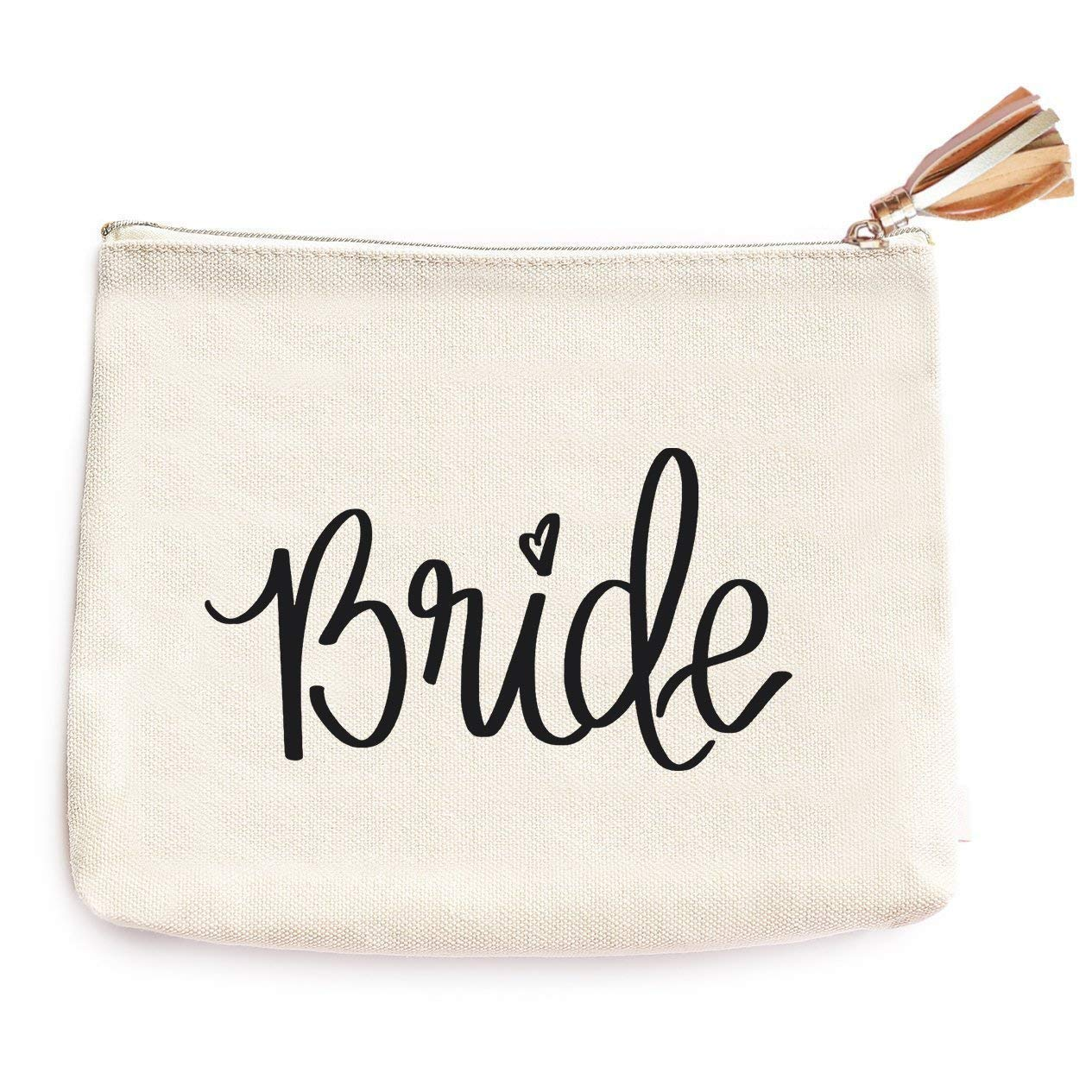 Get Quotations · Bride Canvas Makeup Bag   Wife Accessories Miss To Mrs Make -Up Holder Cosmetic Organizer d40e7c1935