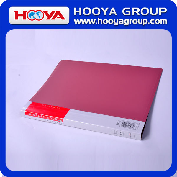 promotional cheap stationery wholesale plastic clear book