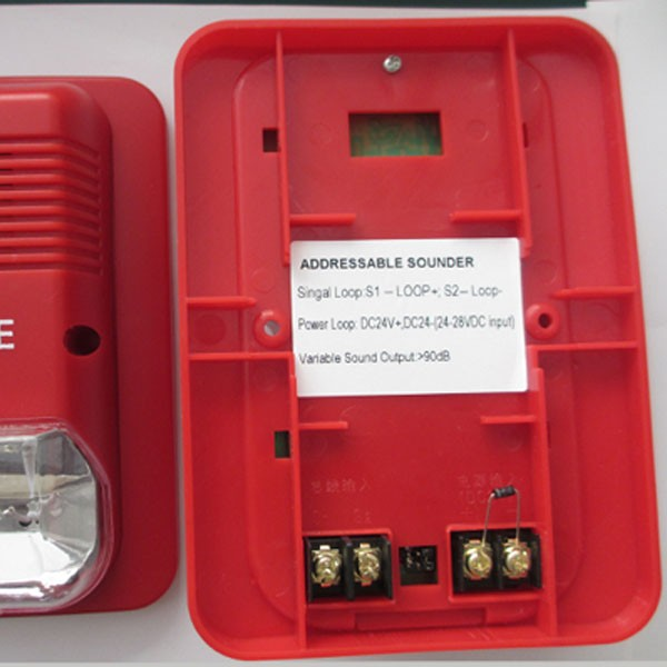 Ktv Emergency Dc24v Fire Alarm Sounder With Strobe Light - Buy ...