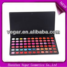 Hot!66 colors lip palette cake shape lip gloss