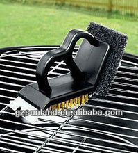 Landmann 3 in 1 BBQ Barbeque Cleaning Brush