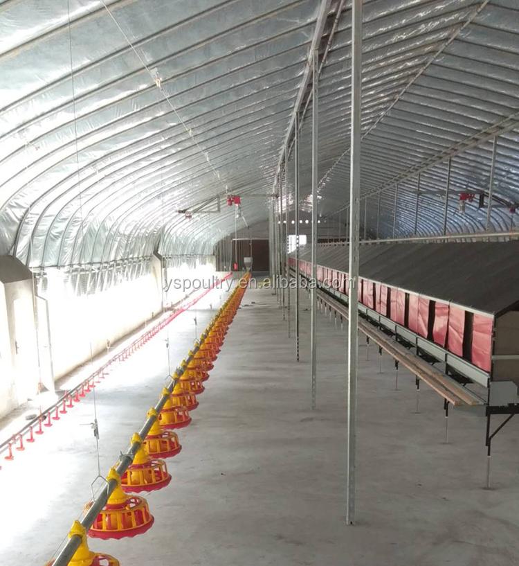 ขายร้อนฟาร์มสัตว์ปีกอุปกรณ์/pan feeding system ไก่ ground feeding