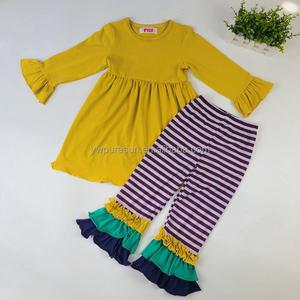 b1b89551982ed vintage Mustard girl kids clothes wholesale children's boutique clothing
