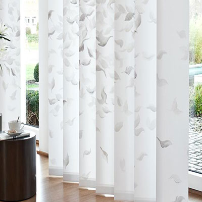100% Polyester  Decorative Vertical Blinds