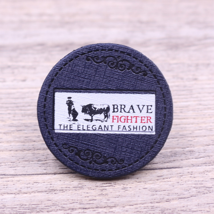 Custom fashion leather repair patch