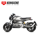 Wuxi Black And Silver Long Range Off Road 3000W 72V Adult Best M6 Electric Motorcycle For Sale