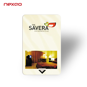 Electronic magnetic hotel door access control card