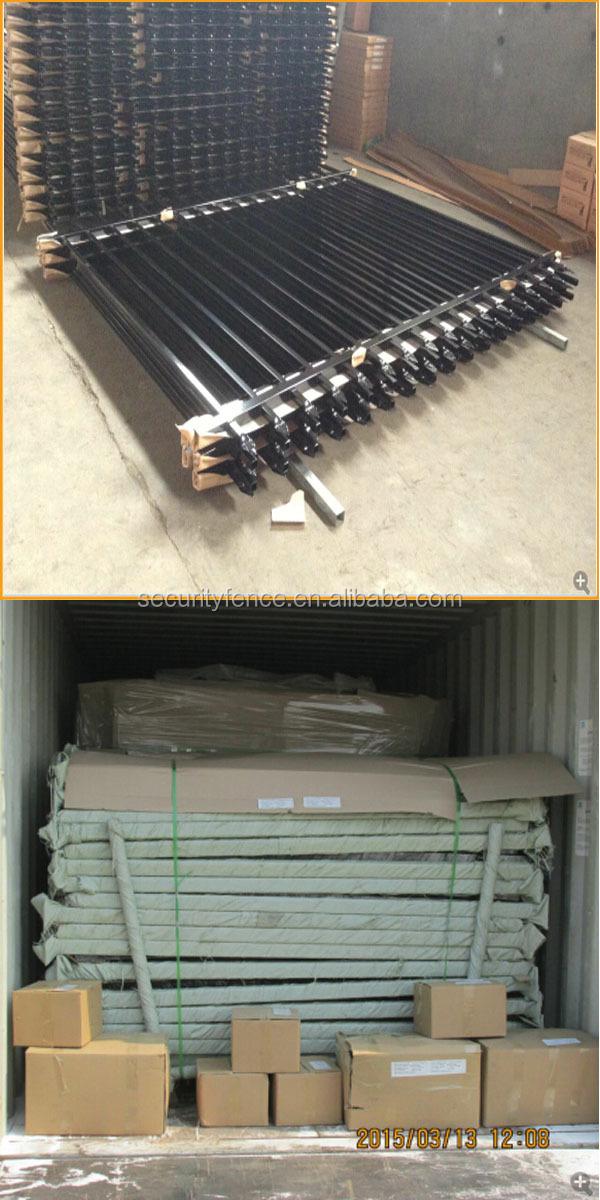 Wholesale aluminum fence panels for sale decorative