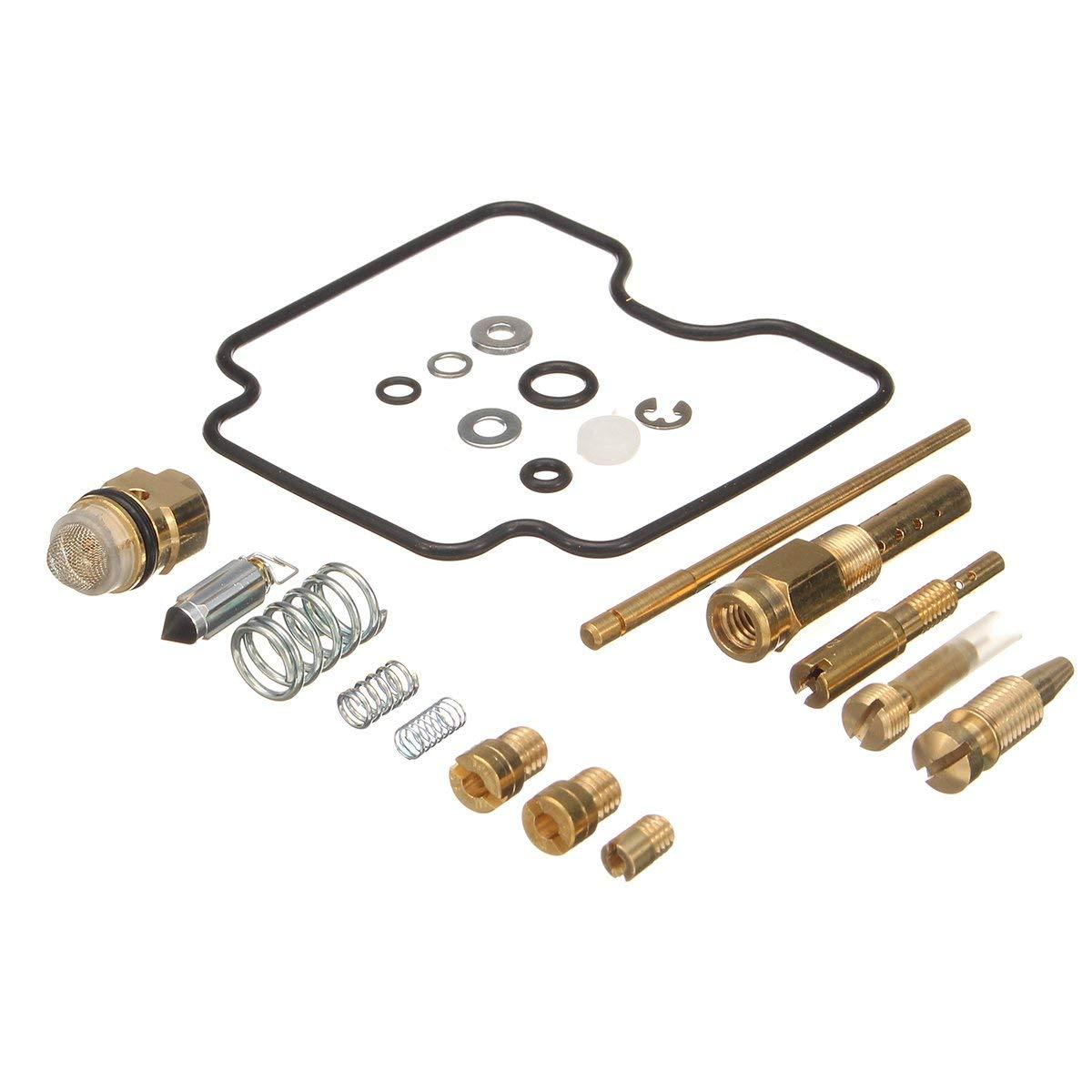 CoCocina Carburetor Carb Rebuild Kit Repair LTZ400 LT-Z400 For Suzuki Z400 2003-2008