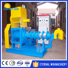floating fish feed extruder pelletizer