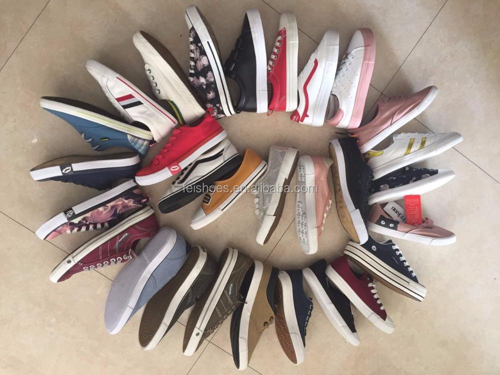 Women Mix vulcanized canvas shoes casual shoes stock shoes