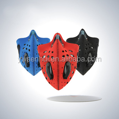 Cool Cycling Anti Pollution Carbon Bicycle Running half face Mask With Filter