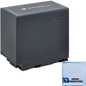 CGR-D54 6600mAh Li-Ion Camcorder Battery for Panasonic PV-DV101, PV-DV102, PV-DV103, PV-DV121, PV-DV200 , PV-DV200K, PV-DV201K , PV-DV202 , PV-DV203, PV-DV221, PV-DV351 , PV-DV400, PV-DV401