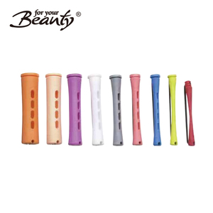 Colour Assorted Perming Rods Hair Roller Long Cold Wave Rods