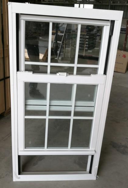 Fácil de limpiar verticales de aluminio ventana deslizante con ...