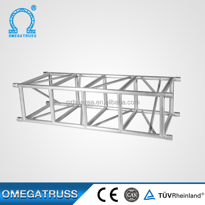 Aluminum 50*4mm main tube spigot roof truss for entertainment,theatre
