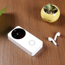 Wifi video 1080p camera doorbell, app control smart security ring, two way chat