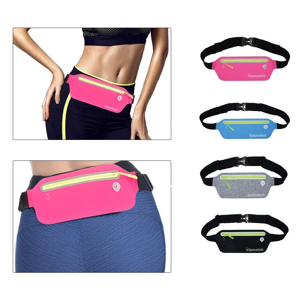 Good Ultrathin Waist Bag Running Belt Waterproof Mobile Phone Holder Pouch Belt Belly Bag Phone Waist Bag Outdoor Waist Bag Cellphones & Telecommunications Armbands