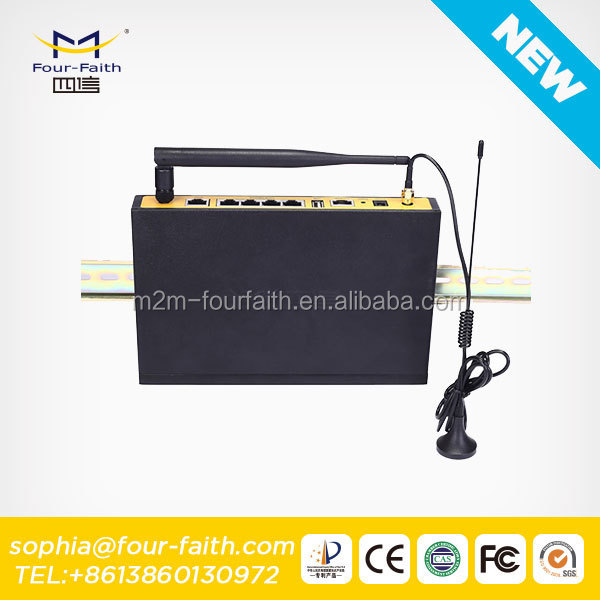 F7834 Cellular 4G GPS Car Tracking WiFi Router for Camera vehicle AVL Vehible Monitoring