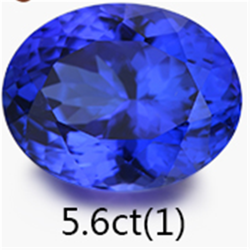china gemstone jewelry factory wholesale 1-50ct 5A natural tanzanite loose stone jewellery