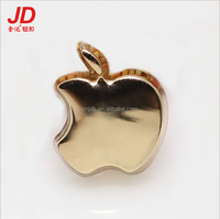 Latest Design Various Patterns Fashion apple shaped alloy shirt buttons