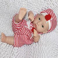 Make your own vinyl doll 10 inch reborn vinyl doll NPK small toys for kids