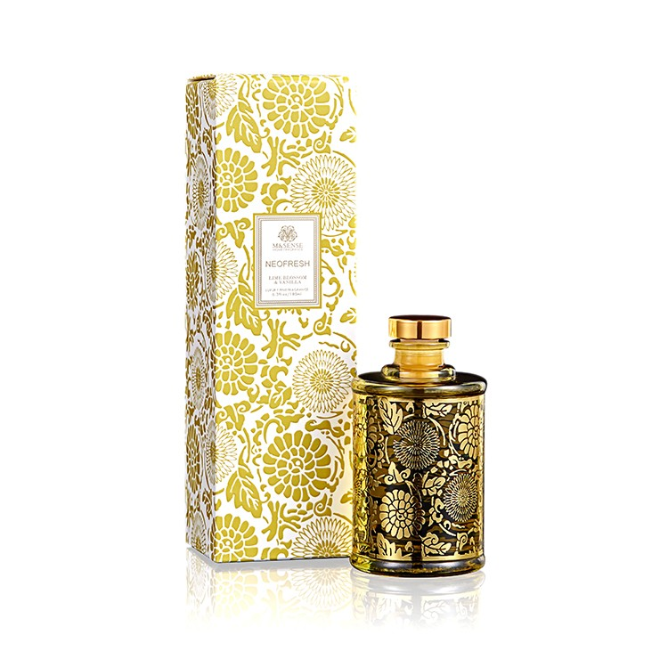 Lime Blossom &Vanilla 65*65*120 mm Natural Scented Reed Diffuser