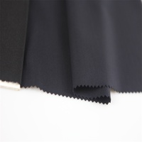 Hot sale high quality Navy Blue spandex nylon elastic knitted fabric
