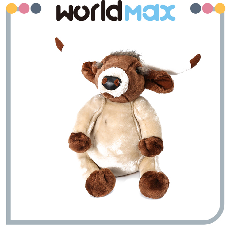 China Made Graceful Yak Promotional Baby Plush Toy