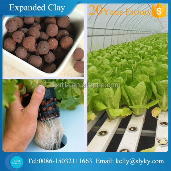 4-20mm Soiless LECA Clay Pellets for Hydroponics