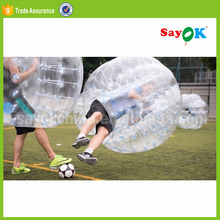 Wholesale prices giant outdoor rent transparent human size cheap tpu body buddy inflatable bumper ball for adult
