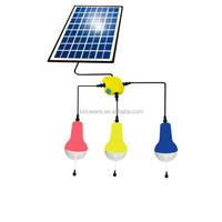 5W Super Brightness Solar Lighting Kits For Home/outdoor Lighting