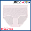 Ladies Breathable Underwear Net Panty with High Waist Bonded Shaping Net Panty