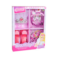 Girl Fashion Jewelry Play Set Toy for Party with Accessories