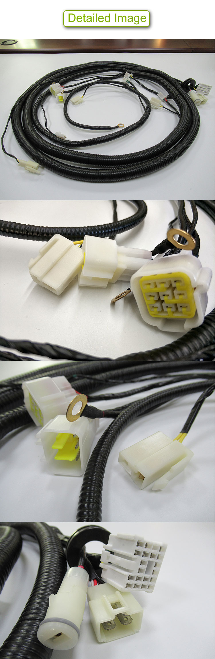new energy customize car door wire harness  electric vehicle  wire