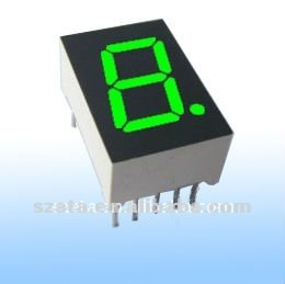 Innovative led design! single digit 7 segment LED digital screen