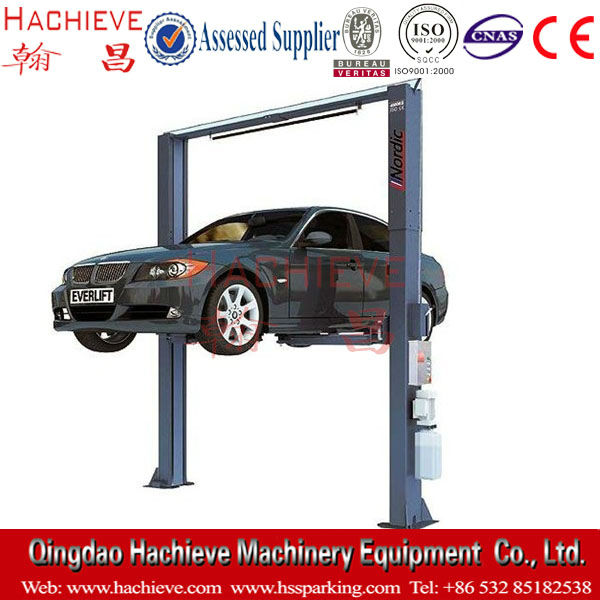 Cantilever car parking lift for mobile