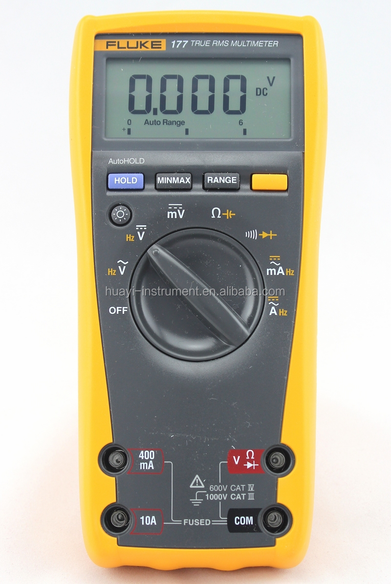 autorange manual range digital multimeter fluke 177 true rms rh alibaba com Fluke 177 Parts List fluke 177 true rms multimeter instructions